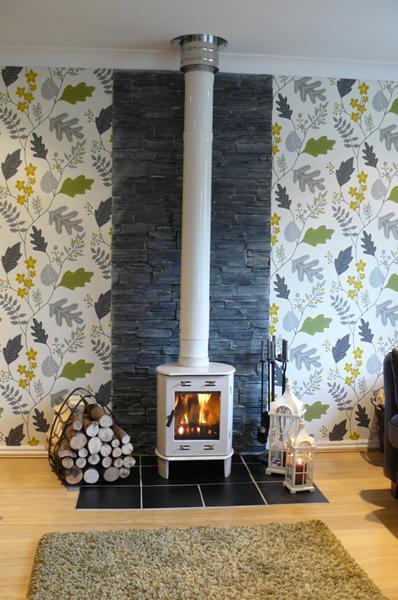 Log Burner Fireplace Tiles